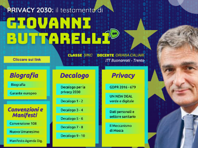Privacy 2030: il testamento di Giovanni Buttarelli