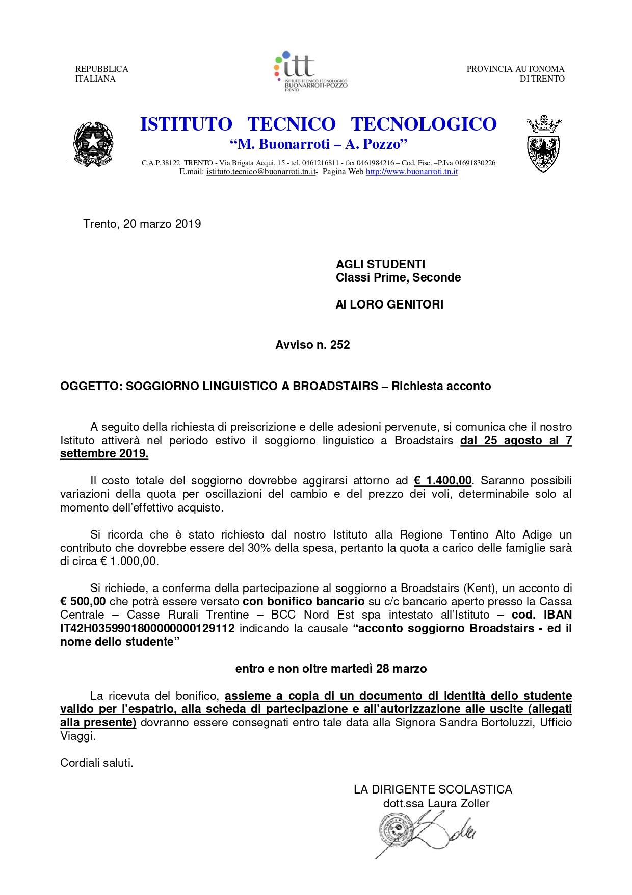 ITT M. Buonarroti - Soggiorno Linguistico a Broadstairs ...